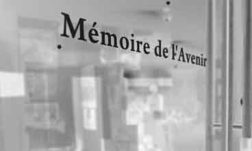Galerie d'art Mémoire de l'avenir